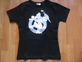 VEGETARIAN  Dámske tričko čierne 100%bavlna