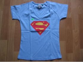 Superman - Supergirl bledomodré dámske tričko 100%bavlna