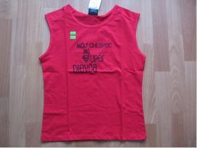 Môj chlapec má super dievča- červené Dámske tričko 100%bavlna