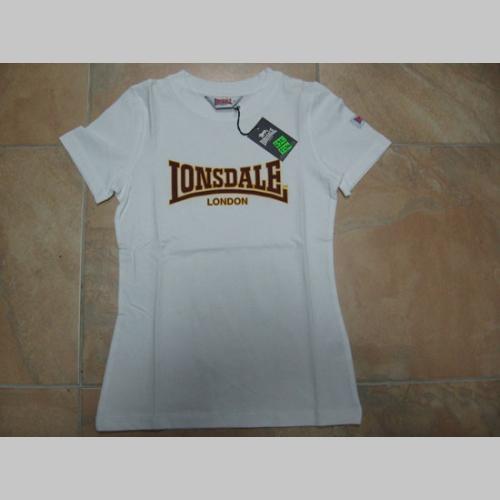 5b23f7179b0c Lonsdale dámske biele tričko 100%bavlna - posledný kus veľkosť L ...