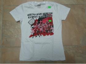 Rozpor dámske biele tričko 100%bavlna S,M,(požadovanú veľkosť napíšte v objednávke do rubriky KOMENTÁR)