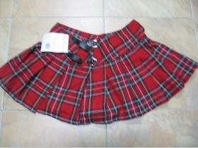 Minisukňa Tartan, škótske káro 100%bavlna