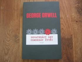 George Orwell - Nineteen Eighty-Four  1984 český preklad  kniha 316 strán brožovaná