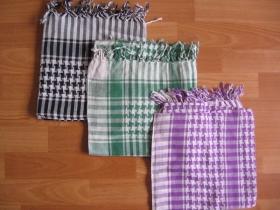 Arafatky, cena za jeden kus 100%bavlna (požadovanú farbu napíšte na konci objednávky do rubriky KOMENTÁR)