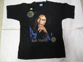 Bob marley  čierne tričko 100%bavlna
