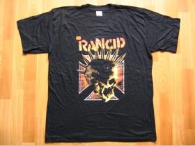 Rancid,  čierne pánske tričko 100%bavlna