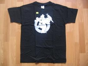 VEGETARIAN  čierne tričko 100%bavlna