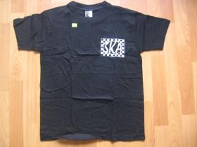 SKA  čierne tričko 100%bavlna