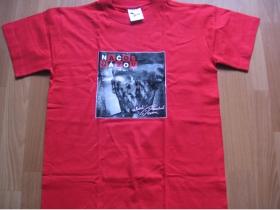 Načo Názov - Zlatá stredná cesta červené  pánske tričko 100%bavlna