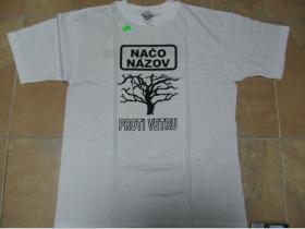 Načo Názov biele  pánske tričko 100%bavlna