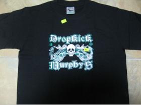 Dropkick Murphys čierne pánske tričko 100%bavlna