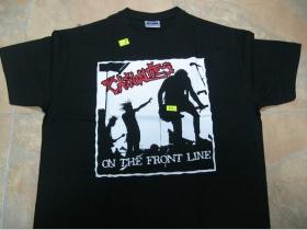 Casualties,  čierne pánske tričko 100%bavlna