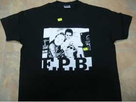 F.P.B.   čierne pánske tričko 100%bavlna