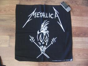 Metallica Šatka 100%bavlna, cca.52x52cm