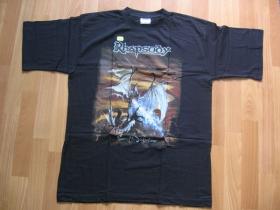 Rhapsody, pánske tričko čierne 100%bavlna