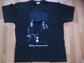 IMMORTAL, pánske tričko čierne 100%bavlna