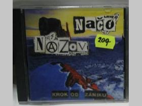 Načo Názov - Krok od zániku, originál lisované CD, druhý album púchovského old school punk-rocku r.1997