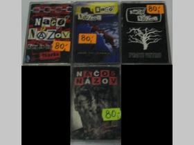 MC Načo Názov - Komu že je lepšie, Krok od zániku, Proti vetru, Zlatá stredná cesta (cena za 1ks) (konkrétny album napíšte v objednávke do rubriky KOMENTÁR)