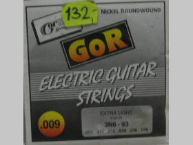 Struny Gor strings 3N6-93 na elektrickú gitaru hrúbka 009-046   Nickel Rounwound