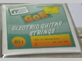 Struny Gor strings 6N6-93 na elektrickú gitaru hrúbka 011-060   Nickel Rounwound