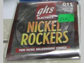 GHS 011-050  NICKEL ROCKERS Struny na elektrickú gitaru gitaru
