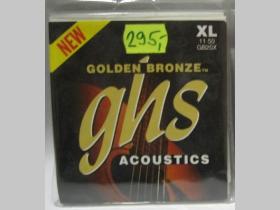 GHS Golden Bronze 011-50 XL struny na akustickú gitaru