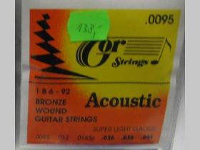 Gor strings hrúbka 0095   1B6-92 Bronze Wound, struny na akustickú gitaru Gor Strings