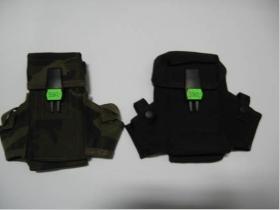 Kapsička na opasok US 12x18cm - čierna, maskáčová  (konkrétnu farbu napíšte v objednávke do rubriky KOMENTÁR)