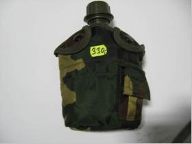 Flaška poľná - čierna, maskáč, kaki zelená