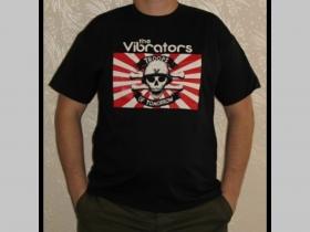 Vibrators - Troops of Tomorrow  čierne pánske tričko 100%bvlna
