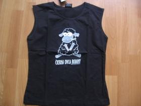 čierna ovca rodiny, čierne dámske tričko čierne 100%bavlna
