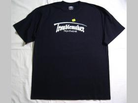 Troublemaker T2 čierne pánske tričko 100%bavlna  na chrbáte logo A.C.A.B. veľkosť XL alebo vzadu žiadny napis - veľkosť XXL.