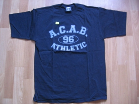 Troublemaker CTS čierne pánske tričko A.C.A.B.