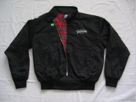 Harrington Troublemaker HJ - čierny  65%polyester 35%bavlna