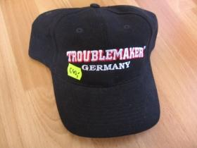Troublemaker BC-05 - Šiltovka čierna s vyšívaným logom 100%bavlna