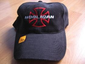 Hooligan Šiltovka CAP 008 čierna s vyšívaným logom 100%bavlna