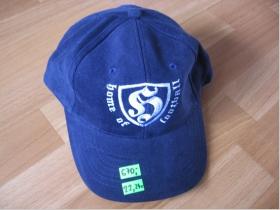 Hooligan Home of Football HOF modrá s vyšívaným logom 100%bavlna