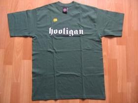 Hooligan zelené pánske tričko CLASSIC (model sa už nebude vyrábať!!!)