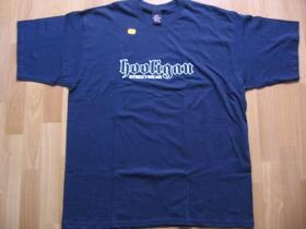 Hooligan  tmavomodré pánske tričko CLASSIC (model sa už nebude vyrábať!!!)