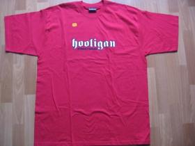 Hooligan  červené pánske tričko CLASSIC (model sa už nebude vyrábať!!!)