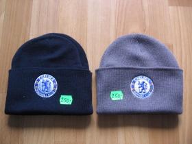 Chelsea, zimná čiapka čierna, šedá 100%akryl