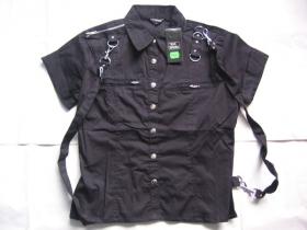 Dámska košeľa Rock čierna.