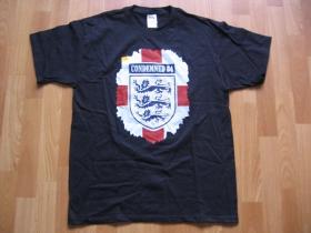 Condemned 84  čierne pánske tričko 100%bavlna