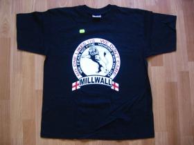 Millwall čierne pánske tričko 100%bavlna
