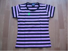Dámske tričko ružovočierne 100%bavlna