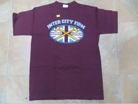 West Ham, pánske tričko bordové 100%bavlna