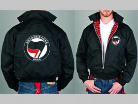 Antifašistická akcia Bunda Harrington s hrejivou podšívkou farby RED TARTAN, obojstranné logo (s kapucou iba v čiernej farbe je za 42,90euro!!)