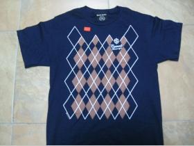 Casuals - modré pánske tričko 100%bavlna - posledný kus veľkosť S