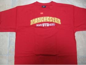 Manchester Red Army pánske červené tričko 100%bavlna