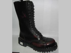 Kožené topánky Steadys 15.dierkové